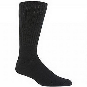 Image Of Diasox Seam-Free Sock, Large, Black