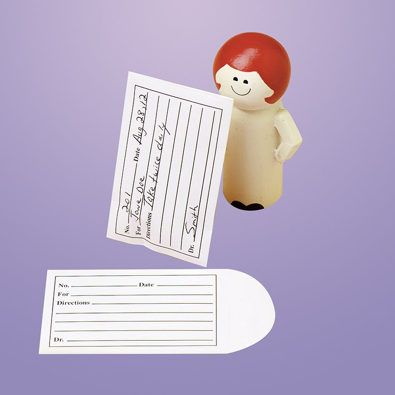 Image Of Pill Envelope White 2-1/4 X 3-1/2 Inch