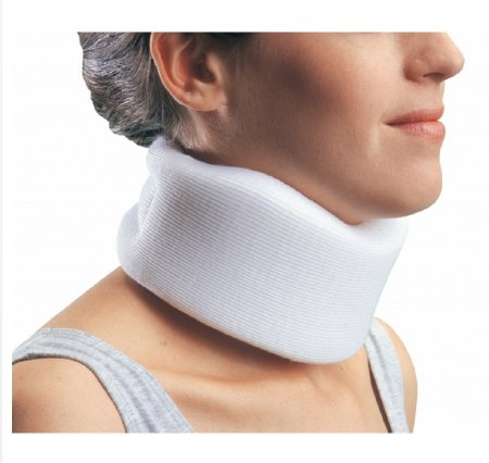 Image Of Cervical Collar PROCARE Medium Firm Density One Size Fits Most Clinic Collar 2-1/2 Inch Height 24 Inch Length 10-1/2 to 24 Inch Circumference