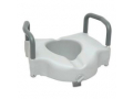 Image Of ProBasics Raised Toilet Seat with Lock and Arms, 350 lb Weight Capacity, REPLACES ZCHRTS01