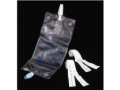 Image Of Deluxe Leg Bag with Twist Valve and Latex Straps, Medium 600 mL