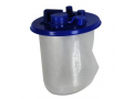 Image Of Suction Canister Liner with Valve and Lid, 1500 cc