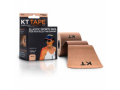 Image Of KT Tape Original Cotton Elastic Kinesiology Therapeutic Sports Tape, 20 Pre cut 10 inch Strips, Breathable, Beige
