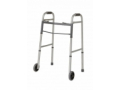 """Image Of Youth Two-Button Folding Walkers with 5"""" Wheels"""