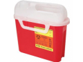 Image Of Guardian Sharps Collector,5.4 Qts, Red, Each