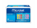 Image Of Microlet Colored Lancets 100 Each