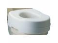 Image Of Raised Toilet Seat, Fits Standard Toilet