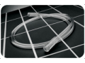 """Image Of Oxygen Supply Tubing 25 ft x 3/16"""" ID Clear, Three Channel Safety, Vinyl material"""