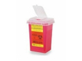 Image Of CONTAINER, SHARPS, 1QT, RED