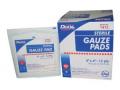 "Image Of 4"" X 4"" Sterile Gauze Pad, 12 Ply, 100/dispenser"