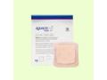 "Image Of AQUACEL Ag Foam Adhesive Dressing, Size 5"" x 5"", with 3.3"" x 3.3"" Pad Size"