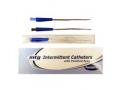 "Image Of MTG Coude Tip Intermittent Catheter, 10 Fr, 10"" Vinyl Catheter with Handling Sleeve"