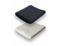 "Image Of 16"" X 16"" Contoured Whl Chr Cushion, 2"" Thick"