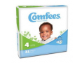 Image Of Comfees Baby Diapers - Size 4