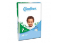 Image Of Comfees Baby Diapers - Size 7