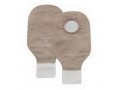 """Image Of New Image Two Piece Drainable Pouch with Filter and 1 3/4"""" Flange, Beige, Box of 10"""
