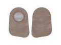 """Image Of New Image Closed End 9"""" Mini Pouch with Filter, 2 3/4"""" Flange, Beige, Box of 60"""