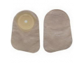 """Image Of Premier One Piece Closed End Mini Pouch with Filter and 5/8"""" Flange, 2 1/8"""", Beige, Box of 30"""
