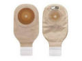 """Image Of Premier Convex Flextend Drain Pouch wtih Tape Boarder 1-1/2"""", Transparent, Cut-to-Fit with Filter, Lock N Roll."""