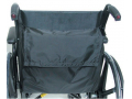 Image Of Navy Poly/cotton Wheelchair Back Pack W/velcro
