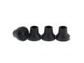 Image Of Replacement Rubber Tips 16mm (5/8 inch) 2/ Box - Black