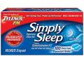 Image Of Simply Sleep Nighttime Sleep Aid, 25 mg