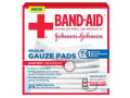 "Image Of J & J Band-Aid First Aid Gauze Pads 3"" x 3"" 25 CT"