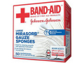 "Image Of J & J Band-Aid First Aid NoMirasorb Gauze 4"" x 4"""