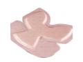 Image Of ALLEVYN Gentle Border Silicone Gel Adhesive Hydrocellular Dressing 23 cm x 23-1/5 cm Heel