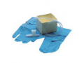 Image Of Cath-N-Glove Suction Kit in Peel Pouch with Tri-Flo Suction Catheter, 8 Fr