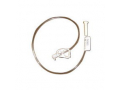 """Image Of Button Continuous Feeding Tube with 90 Degree Adapter 18 fr x 24"""""""
