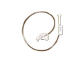 """Image Of Button Continuous Feeding Tube with 90 deg Adapter 24 fr x 24"""""""
