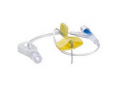 "Image Of HuberPlus Safety Infusion Set 20G x 1/2"", without Y-Injection Site and Needleless Injection Cap"