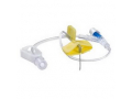 "Image Of HuberPlus Safety Infusion Set 22G x 1"", without Y-Injection Site and Needleless Injection Cap"