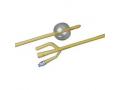 Image Of 3-Way Silicone-Elastomer Coated Foley Catheter 18 Fr 30 cc