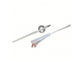Image Of BARDEX Infection Control 2-Way 100% Silicone Foley Catheter 16 Fr 5 cc Coude