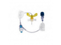 "Image Of MiniLoc Safety Infusion Set 20G x 3/4"", without Y-Injection Site"