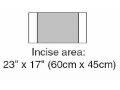 "Image Of Steri-drape Incise Drape, Overall, 32"" X 17"""