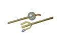Image Of BARDEX LUBRICATH Hematuria Coude 3-Way Latex Foley Catheter 22 Fr 30 cc