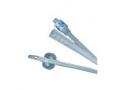 "Image Of 100% Silicone 2-Way Foley Catheter 22Fr 30cc Balloon Capacity 16"" Length"