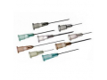 """Image Of Thin Wall Regular Bevel Needle 23G x 1"""" (100 count)"""
