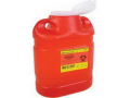 Image Of Guardian Sharps One Piece Safety Collector,6.9 Qt