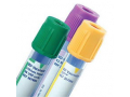 Image Of Vacutainer Plus Plastic Tube with Green Conventional Closure, 3 mL, 13 mm x 75 mm.