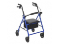 "Image Of Rollator with 6"" Wheels, Blue"