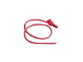 Image Of Open Suction Catheter 14 fr Red Valve