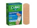 "Image Of Curad Waterproof Plastic Adhesive Bandage, 3-1/4"" x 1"""
