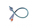 Image Of Silvertouch 2-Way Silver Hydrophilic-Coated Silicone Foley Catheter 18 Fr 30 cc