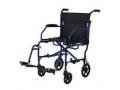 Image Of Ultralight Transport Chair, Blue