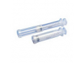 "Image Of Monoject Rigid Pack Syringe with Hypodermic Needle 25G x 1"", 3 mL (100 count)"