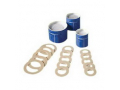 """Image Of Skin Barrier Rings, Soft and Flexible, Ring-Shaped Hydrocolloid Barrier, 1-3/5"""" Stoma"""